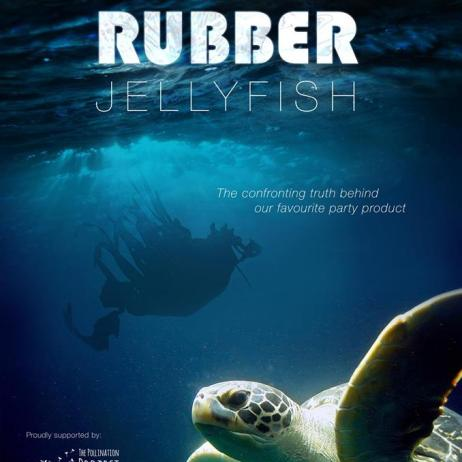Promotional film poster for Rubber Jellyfish Copyright: Rubber Jellyfish/Carly Wilson